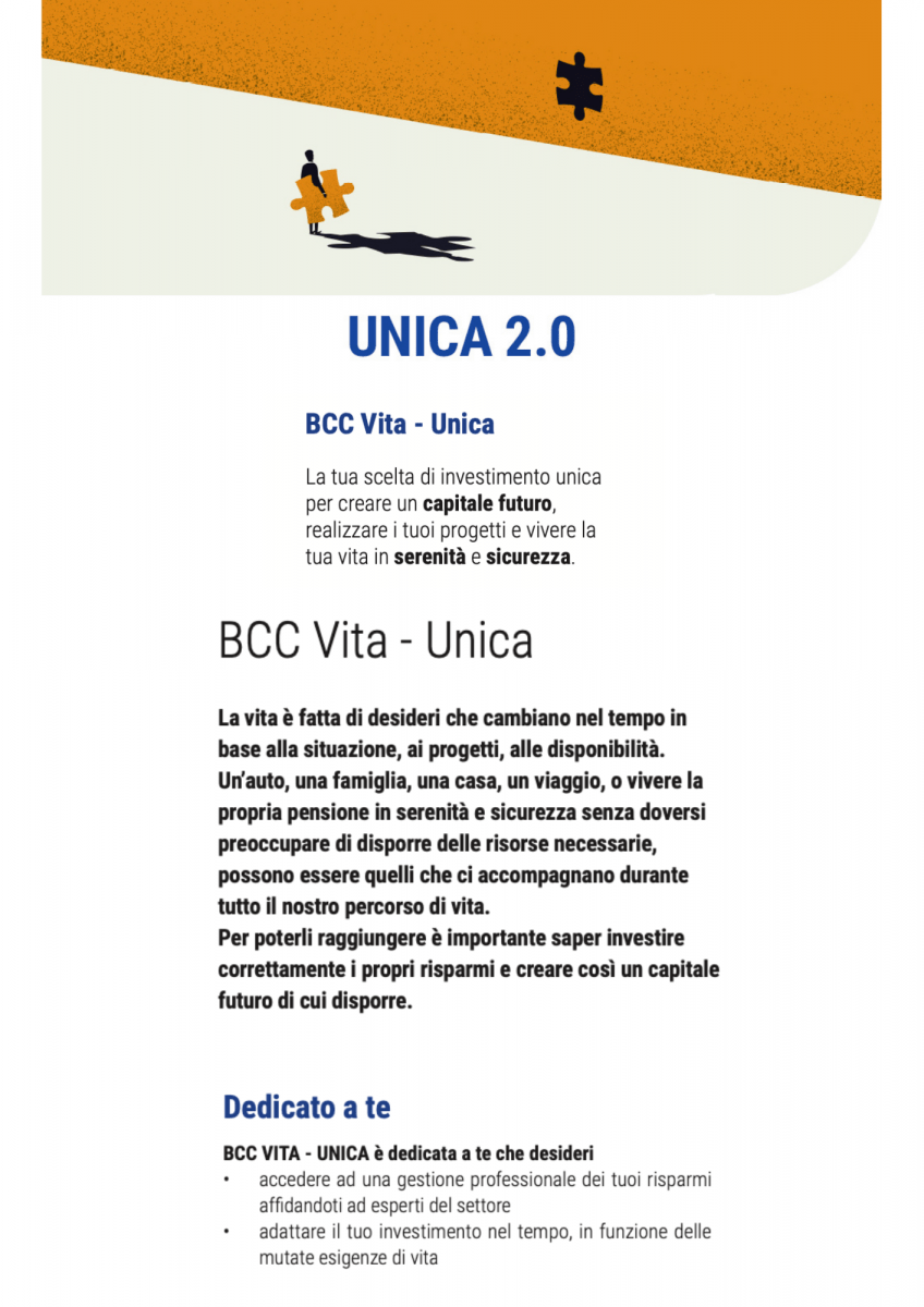 BCC Vita Unica