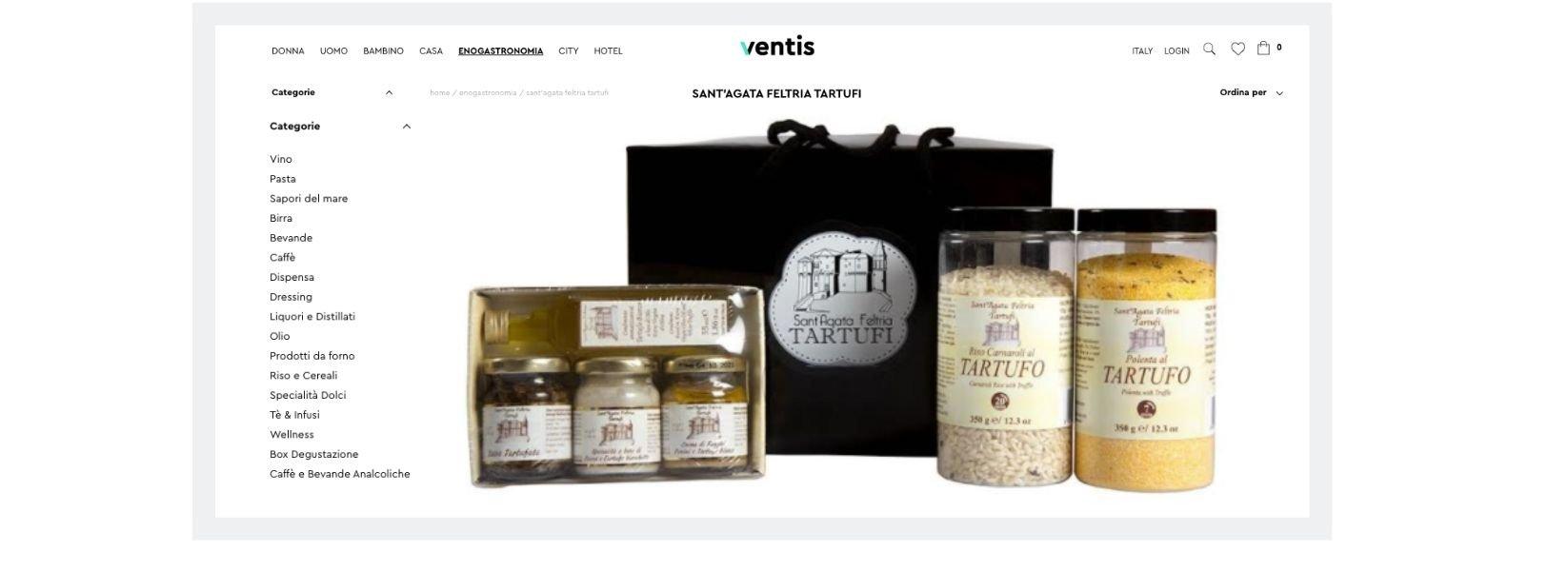 Ventis: il portale per la tua vendita online