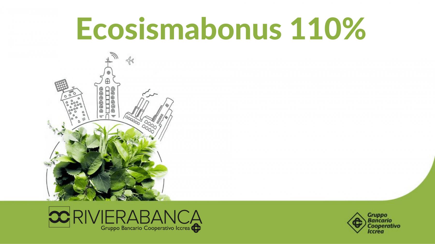 Ecobonus e Sismabonus 110%
