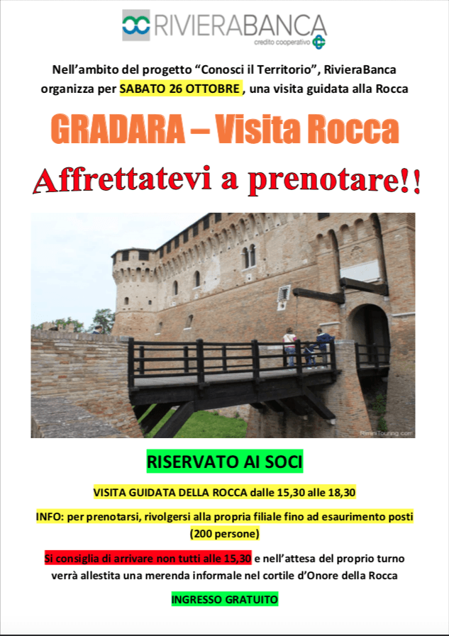 Visita alla Rocca di Gradara