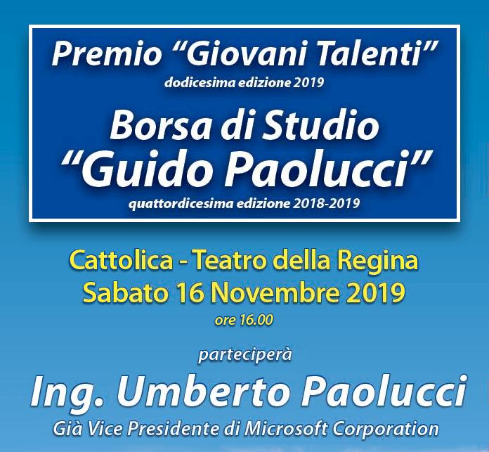 """Premio """"Giovani Talenti"""""""
