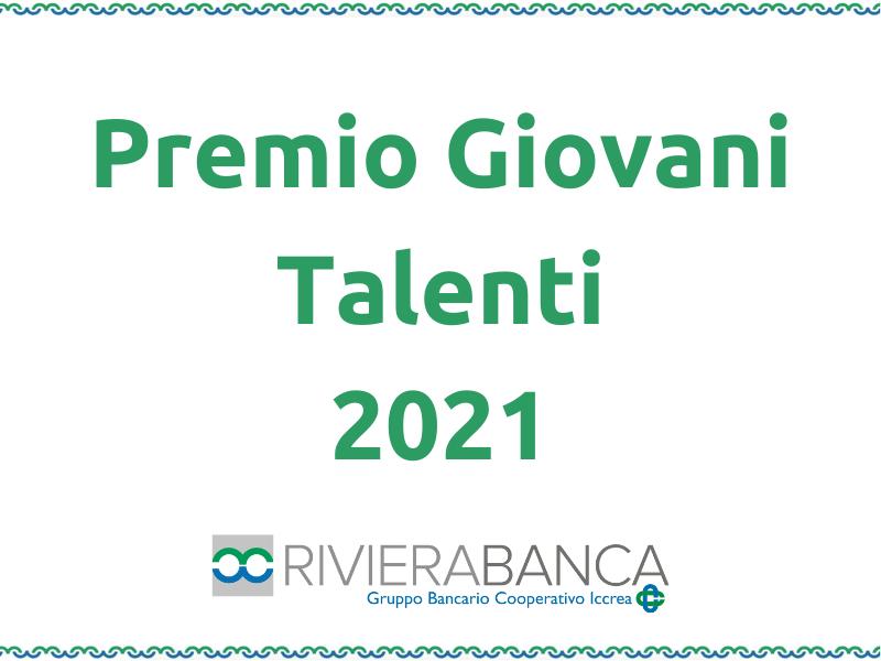 Bando Premio Giovani Talenti 2021