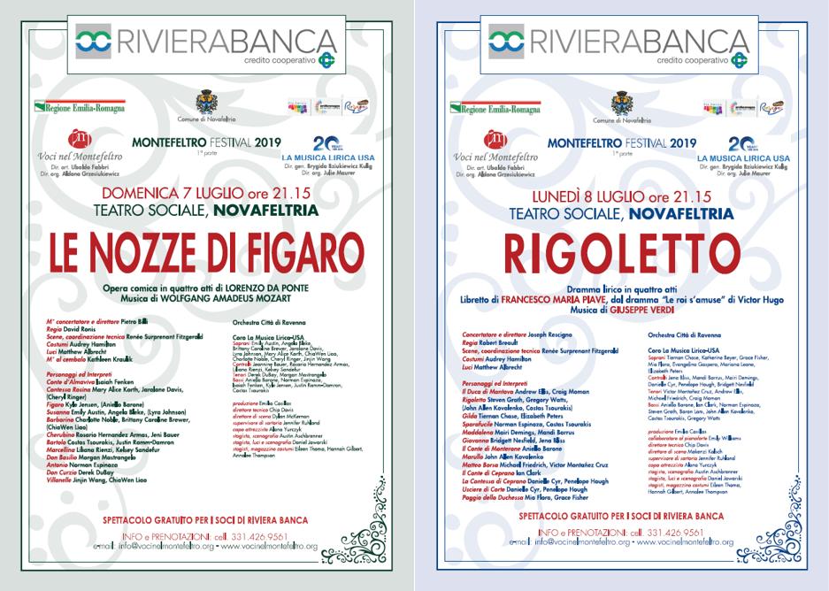 Serate di musica lirica - esclusivo per i Soci RivieraBanca