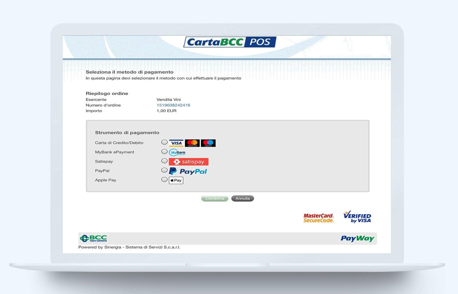 Pagamenti online integrazioni